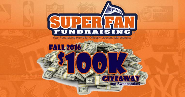 Super Fan is Giving Away 100K in Prizes!