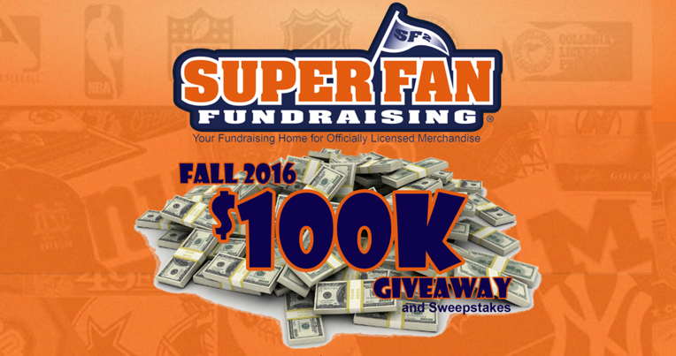 Super Fan is Giving Away 100K in Prizes!